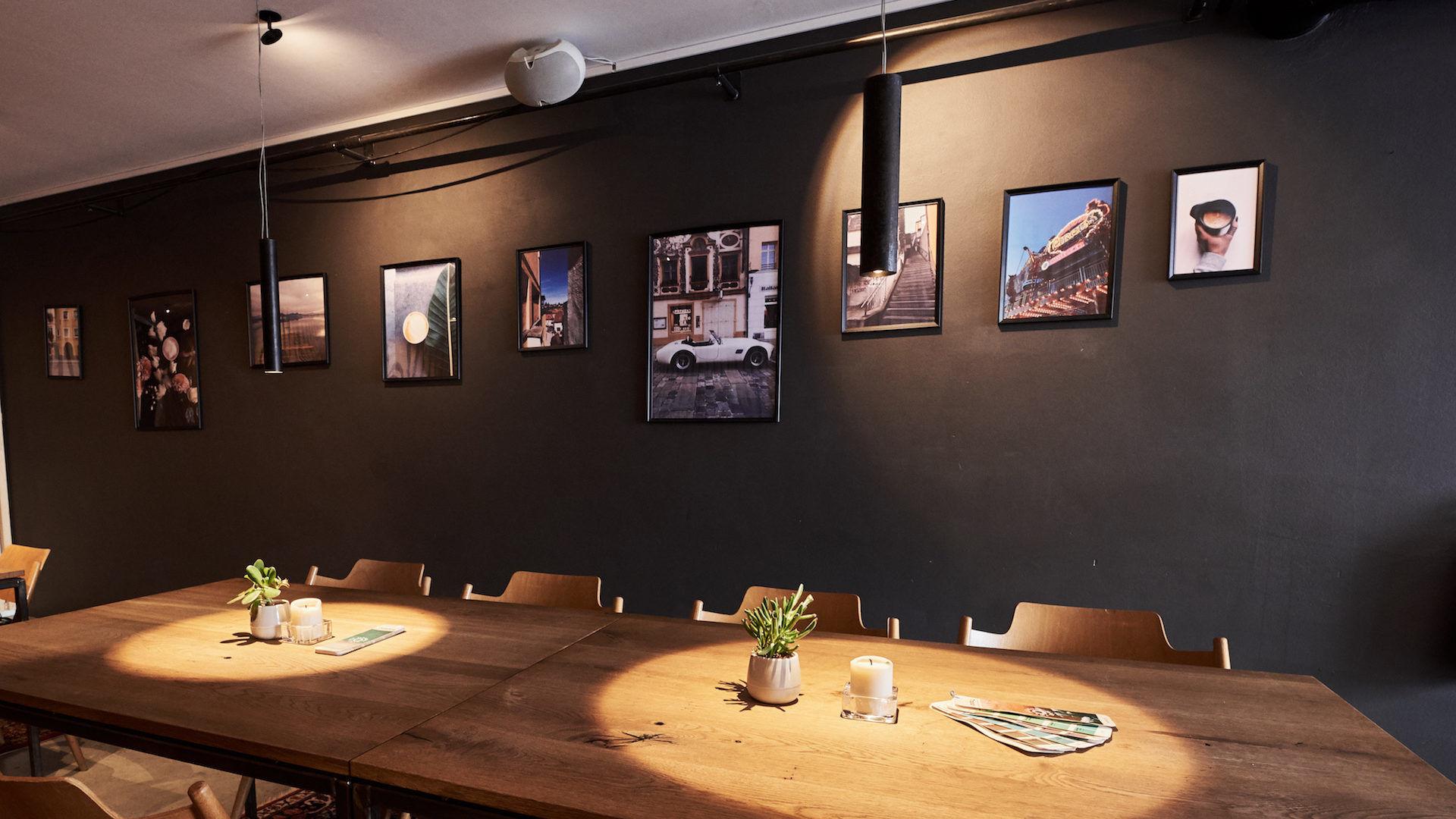 Tischbeleuchtung Restaurant, Traunstein