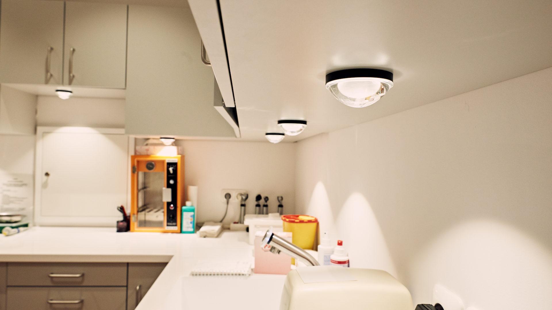 Arzt Praxis Beleuchtung und Planung aus Traunstein