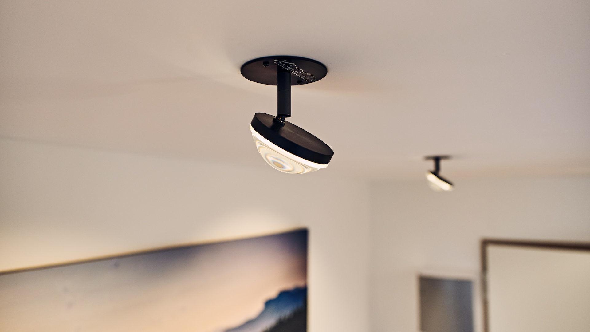 Glaslinsen LED Strahler für Deckeneinsatz, Arzt Praxis, Bad Endorf