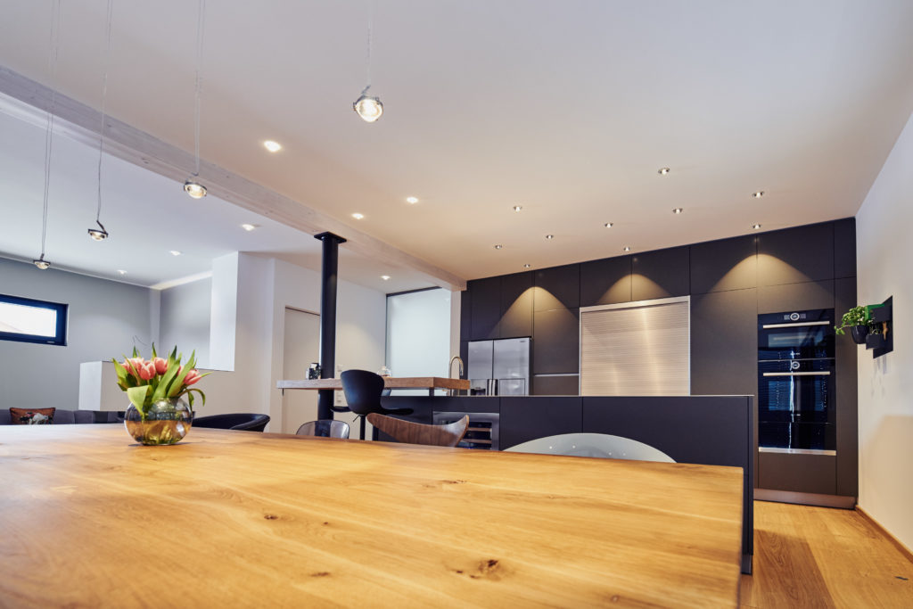 Lichtplanung für Küchen mit LED Leuchten