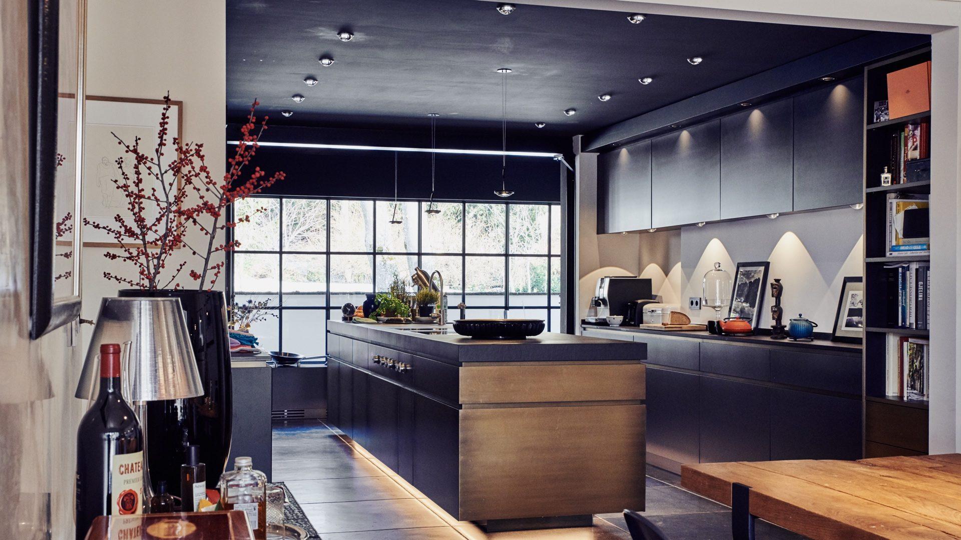 LED Küchenbeleuchtung, Villa bei Starnberg