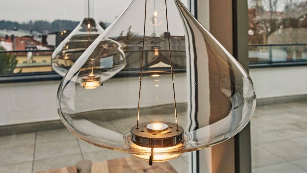 LED Pendelleuchte für Esstisch, Penthouse in Rosenheim
