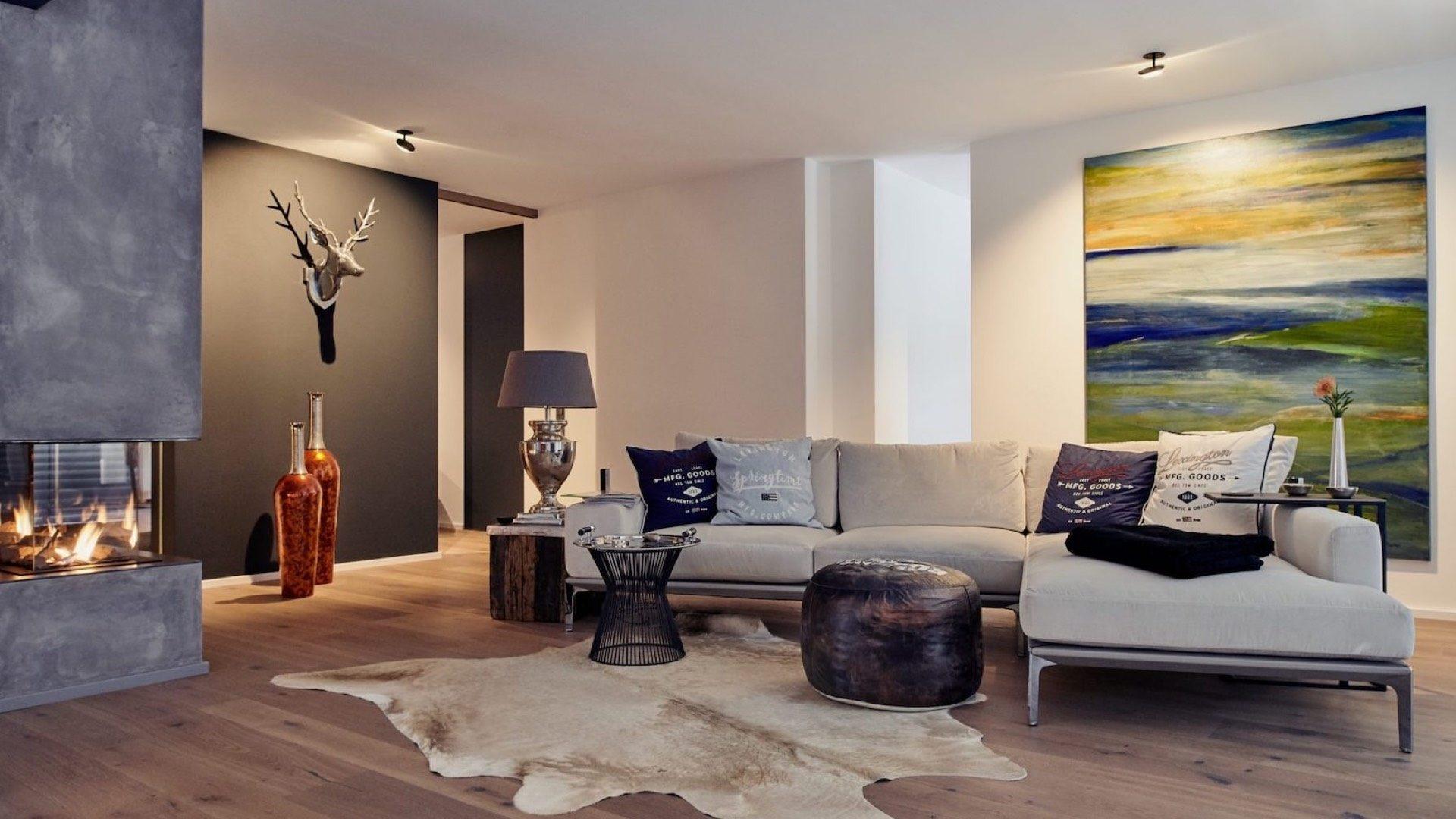 Dimmbare Beleuchtungskonzepte für Lounge- und Wohnbereich