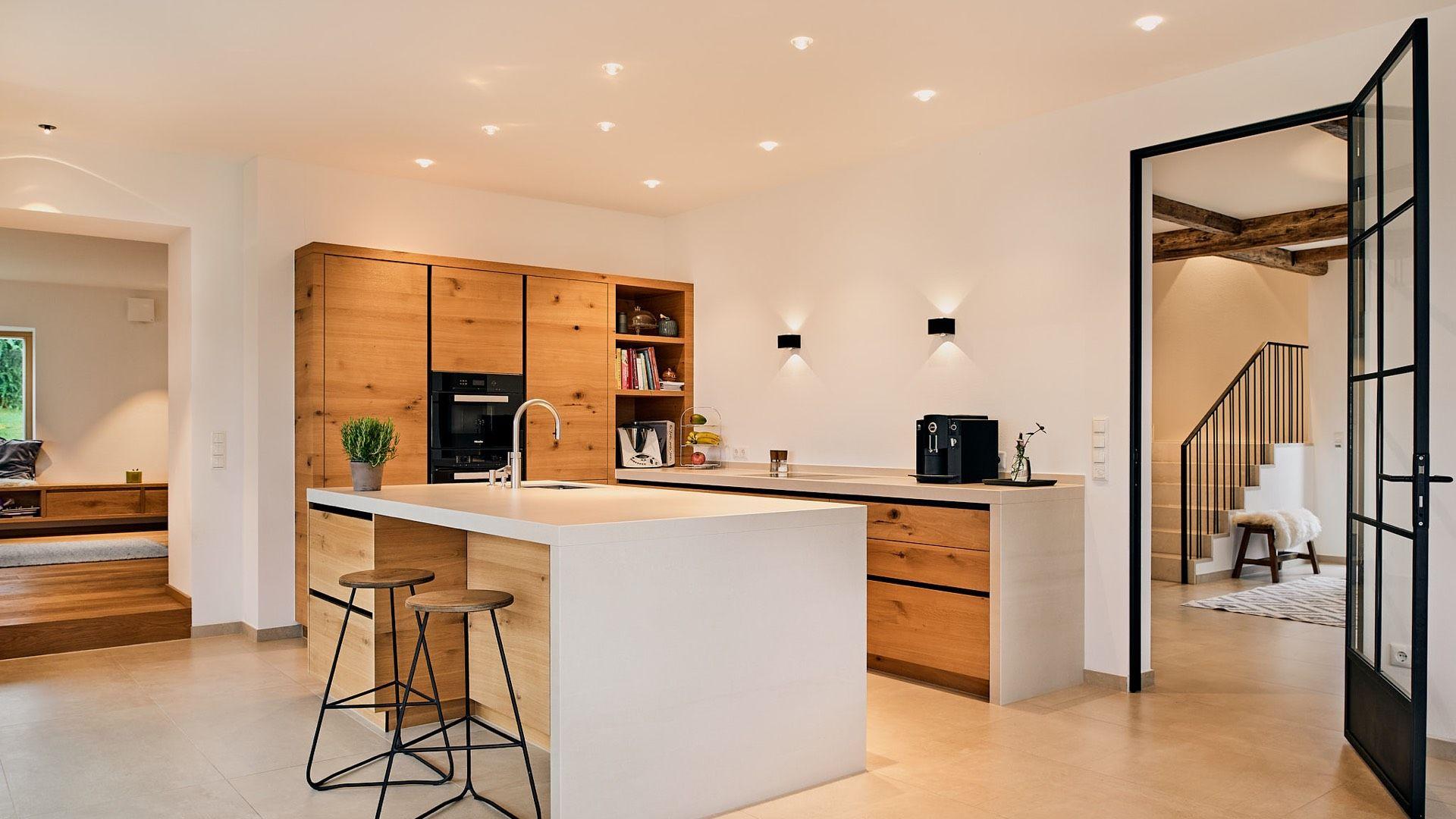 LED Lichtplanung Küche Treppenhaus, Wohnhaus, Traunstein