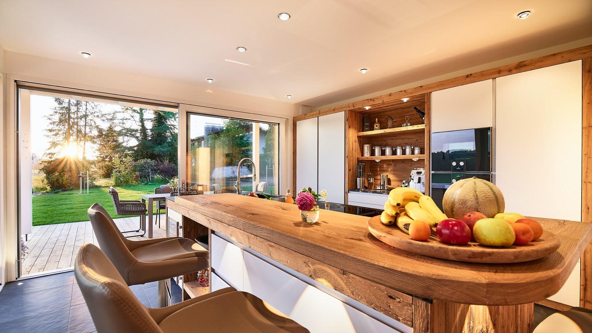 Lichtplanung Küche mit LED Lampen, Prien, Bayern